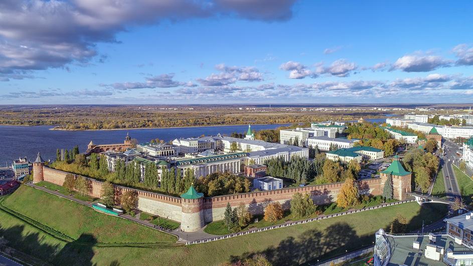 Нижегородский кремль, Нижний новгород © Геннадий Соловьев / Фотобанк Лори