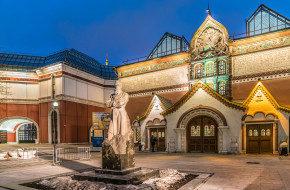 Москва. Здание Третьяковской галереи © Виктор Тараканов / Фотобанк Лори