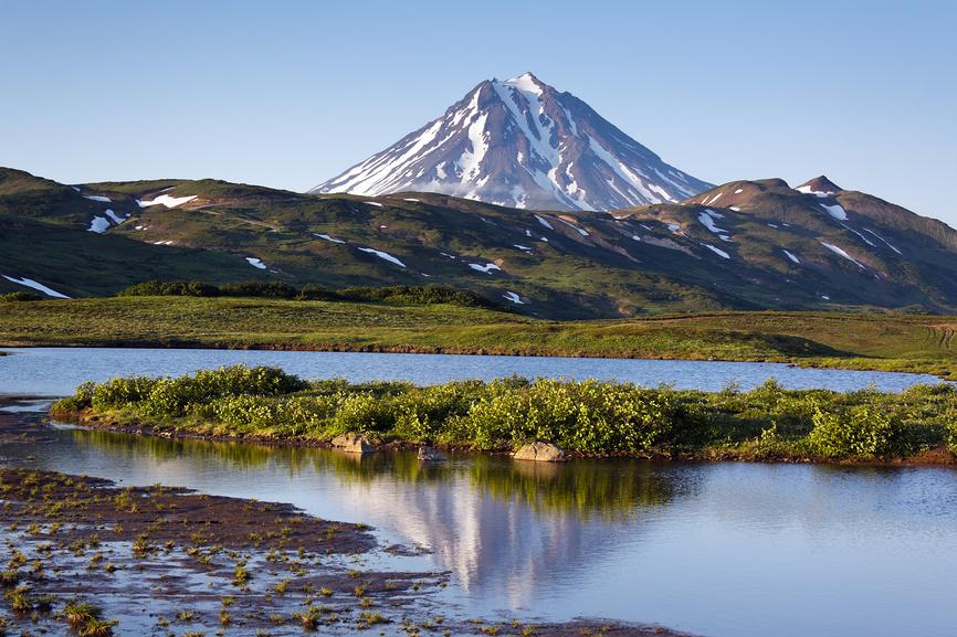 Вулкан Вилючинский на Камчатке © А. А. Пирагис / Фотобанк Лори