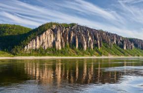 Ленские столбы, берег реки Лены, Якутия  © Victoria Ivanova / Фотобанк Лори