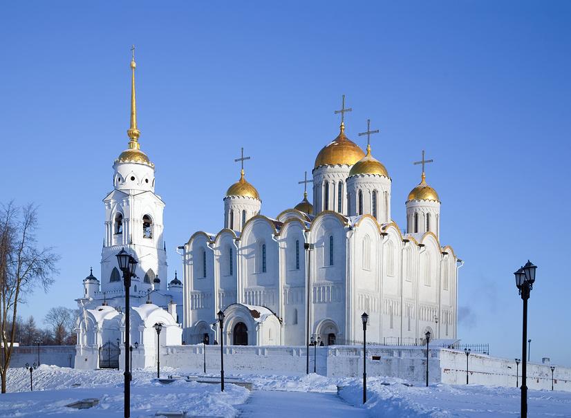 Успенский собор во Владимире © Яков Филимонов / Фотобанк Лори
