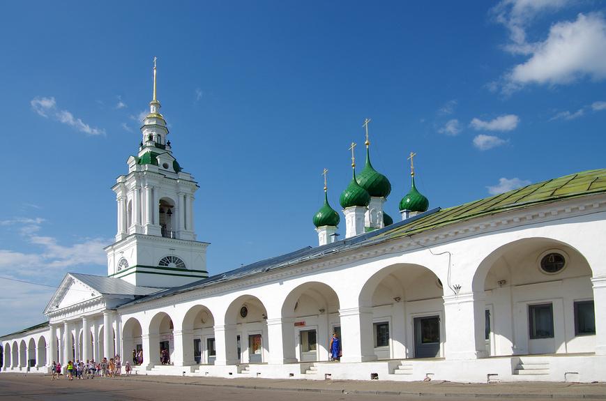 Церковь Спаса в Рядах, Кострома © Natalya Sidorova / Фотобанк Лори