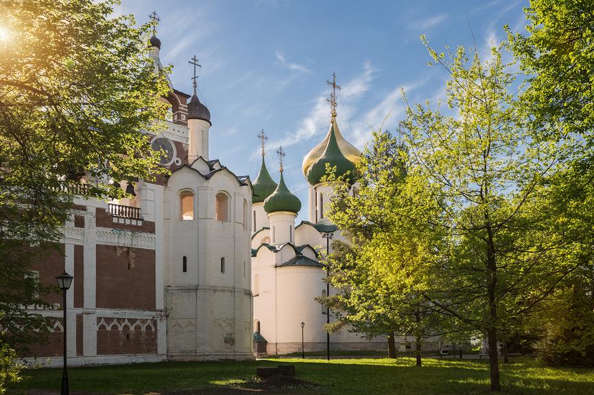 Спасо-Евфимиевский монастырь в Суздале © Юлия Бабкина / Фотобанк Лори