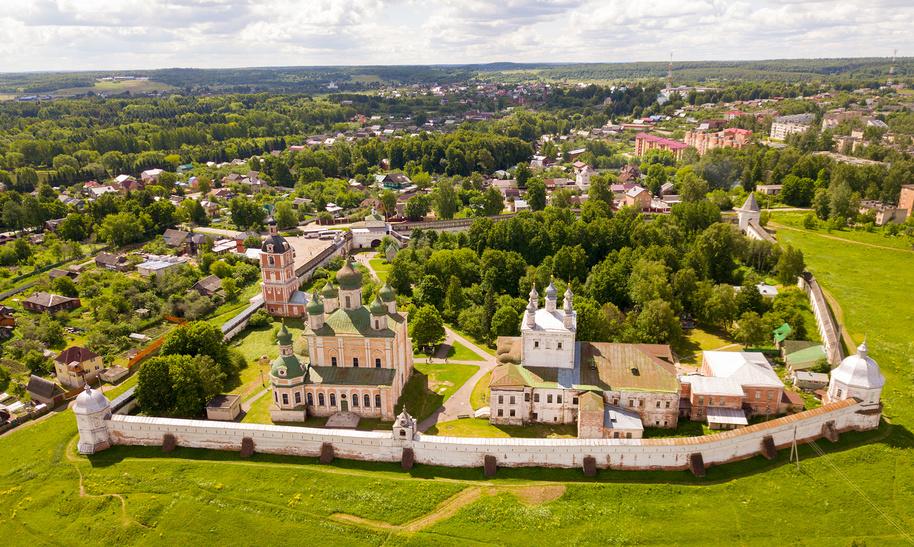 Вид на Горицкий монастырь, Переславль-Залесский © Яков Филимонов / Фотобанк Лори
