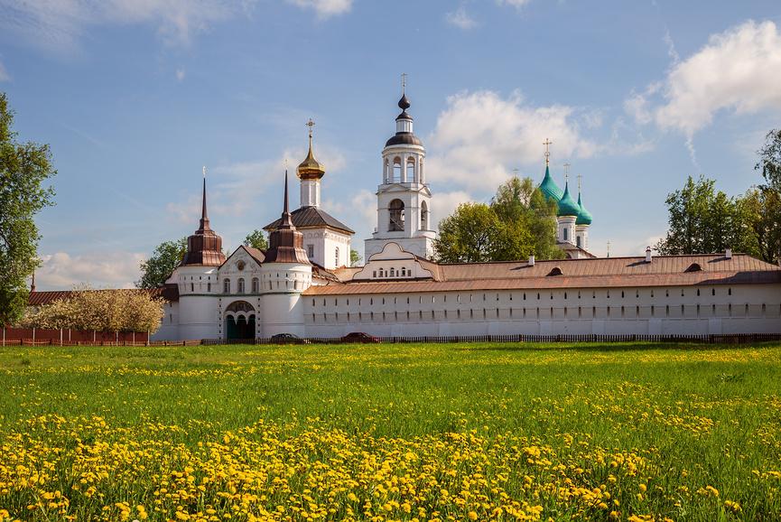 Введенский Толгский женский монастырь, Ярославль © Юлия Бабкина / Фотобанк Лори