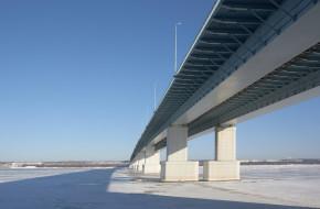"Пермь.""Красавинский"" мост через р.Кама © Павел Спирин / Фотобанк Лори"
