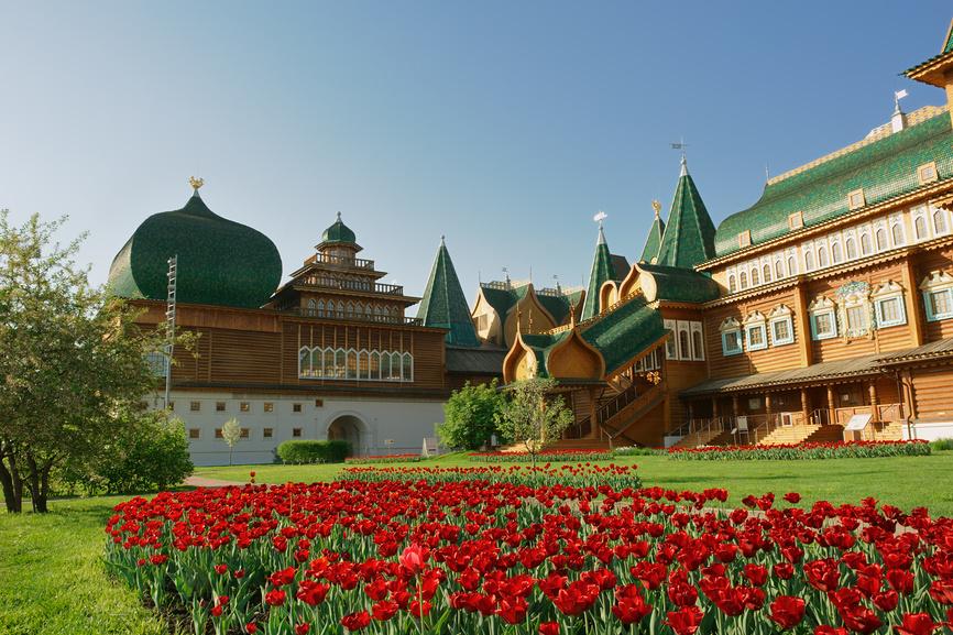 Дворец Алексея Михайловича в Коломенском © Денис Ларкин / Фотобанк Лори