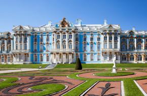Екатерининский дворец. Царское Село. Пушкин. Санкт-Петербург © Сергей Афанасьев / Фотобанк Лори