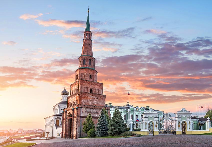 Башня Сююмбике в Казанском Кремле © Baturina Yuliya / Фотобанк Лори