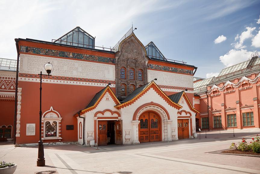 Здание Третьяковской галереи © Наталья Волкова / Фотобанк Лори