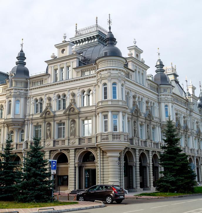 Улица Касаткина, 15. Казань © Владимир Макеев / Фотобанк Лори