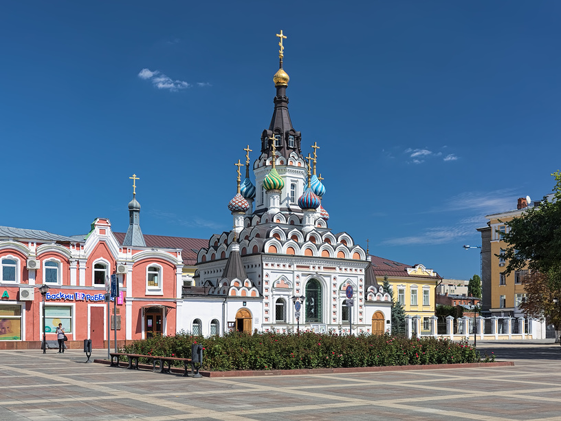 Церковь Утоли моя печали в Саратове © Михаил Марковский / Фотобанк Лори