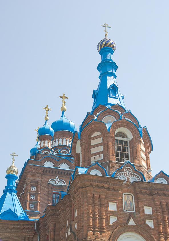 Георгиевский храм в городе Краснодаре © Олег Хархан / Фотобанк Лори
