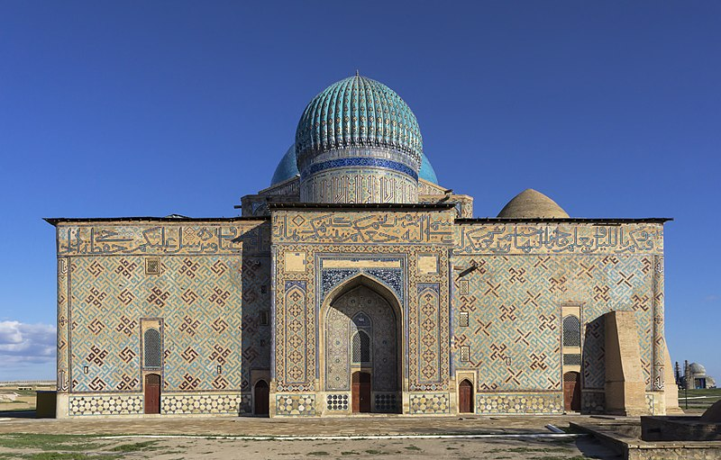 800px-Mausoleum_of_Khoja_Ahmed_Yasawi_in_Hazrat-e_Turkestan,_Kazakhstan