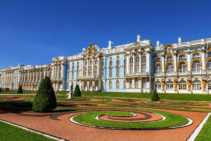 Екатерининский дворец, Царское Село, Пушкин © Наталья Волкова / Фотобанк Лори