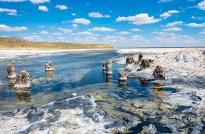 В окрестностях соленого озера Баскунчак © Валерий Смирнов / Фотобанк Лори