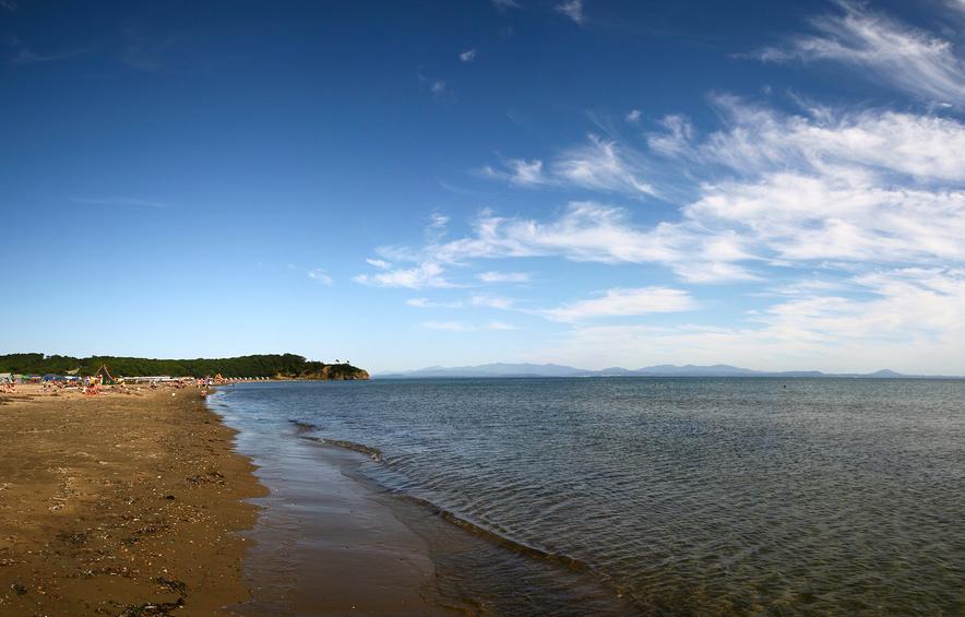 Панорама бухты Шамора, Приморский край © Наталья Чуб / Фотобанк Лори