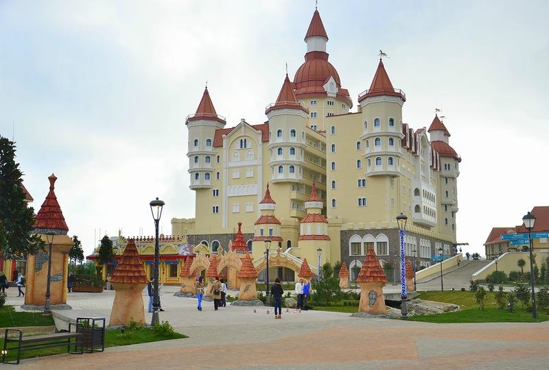 Замок сочи официальный сайт