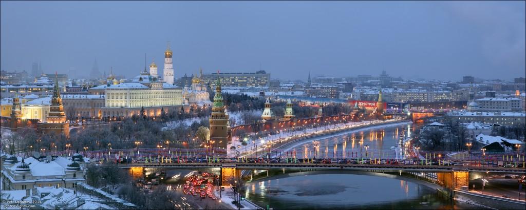 Image result for панорама москвы зимой